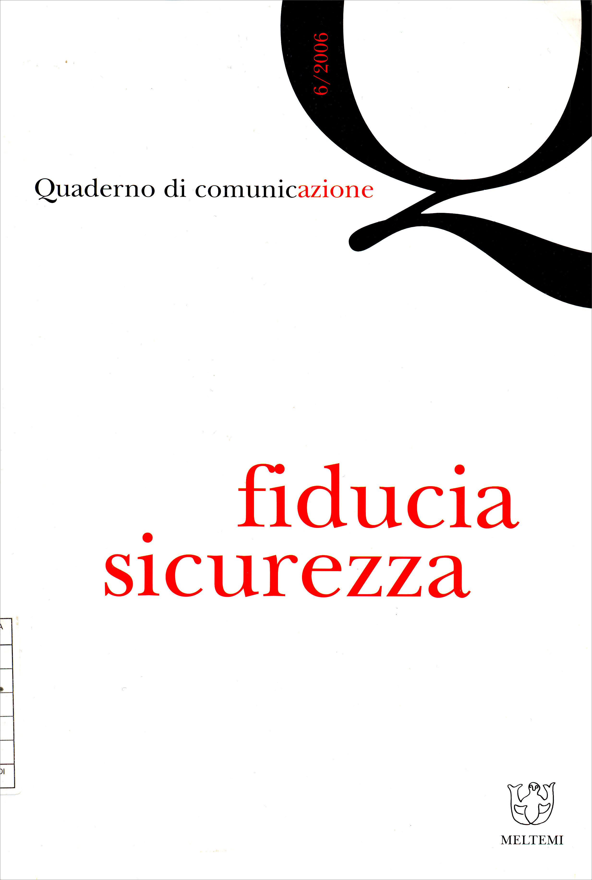 QdC_6_2006 - Cover
