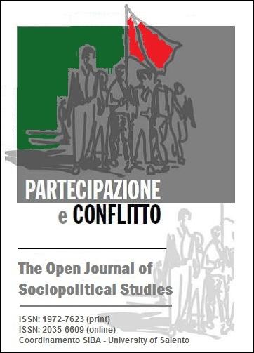 Partecipazione e conflitto - Cover