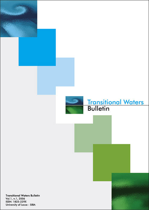 Transitional Waters Bulletin - Cover